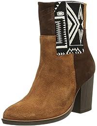 Desigual Damen Navajo Folk Kurzschaft Stiefel