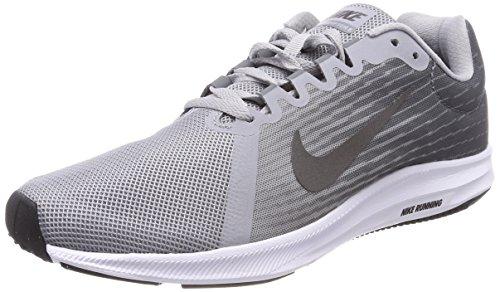 Nike Downshifter 8, Scarpe da Running Uomo Multicolore (Wolf Grey/Mtlc Dark Grey-Cool Grey-Black 004)