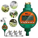 amzdeal Programmateur d'Arrosage Automatique Minuterie Irrigation de Jardin contrôleur...