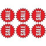 Wandaufkleber Schaufensterdekoration förderung Aufkleber für Glas Wandaufkleber Sommer Winter Ausverkauf Deko ( Red)