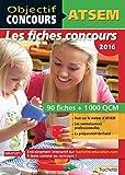 Objectif Concours - ATSEM 90 Fiches 1000 QCM - Catégorie C (Objectif Concours - Fiches) (French Edition)