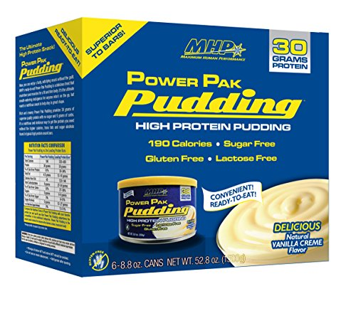 MHP Power Pack Pudding 6 Vanilla Moose 250g [Grocery]