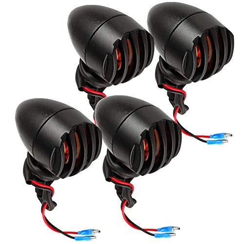 4 x LED Indicatori di direzione per Moto Frecce Moto Bullet-Shaped Moto Indicatore di Direzione Fari Lampada Segnale Luce di Direzione Impermeabile Luci Lampeggianti Luci Posteriori Anterio