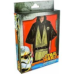 Star Wars Disfraz poncho Jedi, color negro (Paladone PP2826SW)