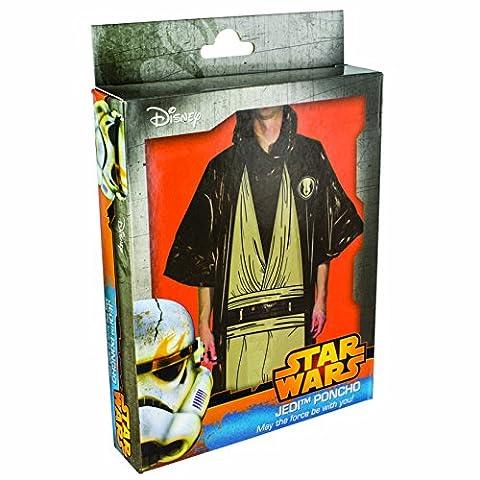 STAR WARS–Poncho-Kostüm Jedi, Einheitsgröße (Padawan Star Wars Kostüm)