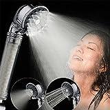 3-modes ionique Filtration Pommeau de douche portable de haute pression d'économie d'eau Pomme de douche Buse