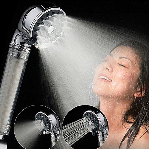 Qualität-wasser-filter Hohe (Chlor Ionic Filter Duschkopf Handbrause Hoher Druck Wasser sparen Duschbrause Brausekopf Multifunktionsduschkopf für Badezimmer)