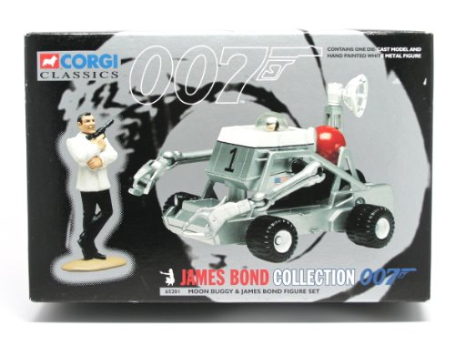 Preisvergleich Produktbild CORGI - 65201 MOON BUGGY AND JAMES BOND FIGURE SET