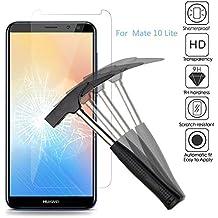 2x Huawei Mate 10 Lite Protector de Pantalla, Huawei Mate 10 lite Cristal Templado,