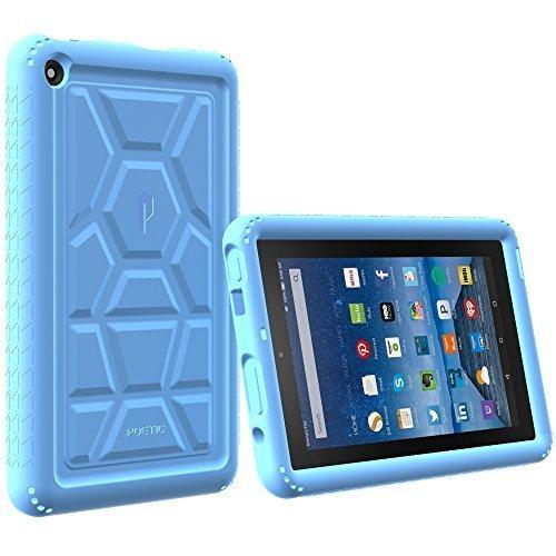 nvidia shield tablet k1 Poetic Caso Tablet [Tartaruga Serie Pelle] Custodia Protettiva per nvidia Scudo tavoletta k-1 (2015) Nero per nvidia Shield Tablet da 8 Pollici