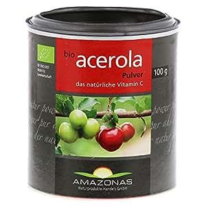 ACEROLA 100% Bio Pur nat.Vit.C Pulver, 100 g