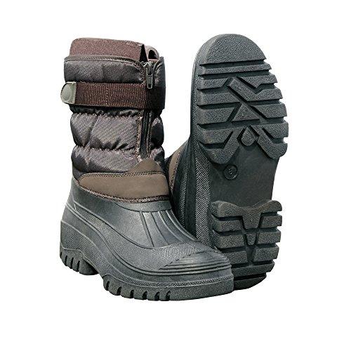 CLIFFORD JAMES Unisex Waterproof Winter Snow Boots All Weather Slip Resistant Stable Mucker Wellies