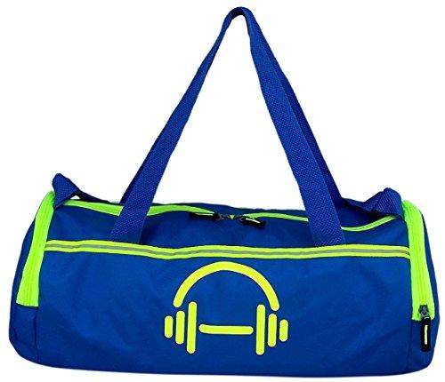 Auxter Gym Duffel Bag With Shoe pocket , Blue