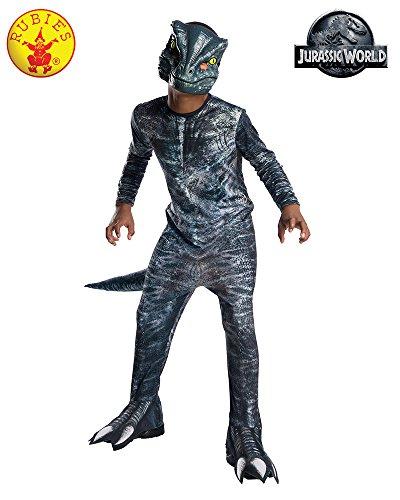 Rubie´s 641180L Kostüm Unisex Children Mehrfarbig - Velociraptor Kostüm Blau