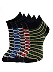 Marc by Marc Jacobs Mens Cotton Socks (SAPHIRE 2521-05C_Multi-Coloured_Free Size)