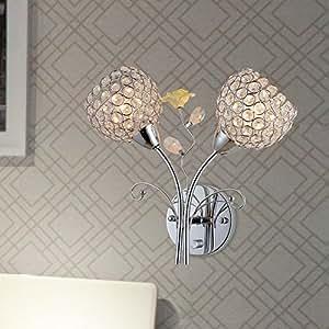 Trop Lampe murale LED en cristal acrylique