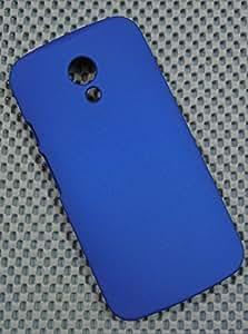 MOTOROLA MOTO G2 2nd Gen XT1068 IMPORTED MATTE FINISH HARD BACK CASE COVER GUARD FOR G 2 ROYAL BLUE - MEGABYTE