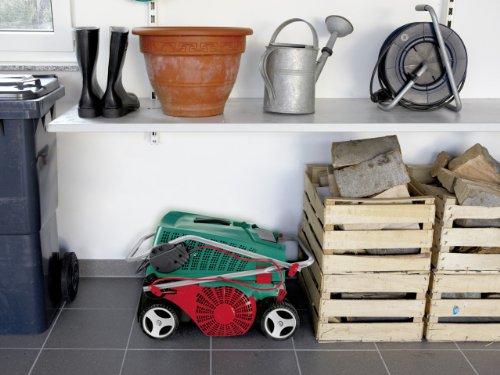 Bosch DIY Vertikutierer AVR 1100, Fangkorb, Karton (1100 W, 32 cm Arbeitsbreite, 50 l Fangkorbvolumen) -