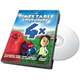 Times Table Adventure 4X Table : The Battle of Boulder Island [DVD]