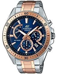 Casio Edifice  Herren -Armbanduhr  Analog  Quarz Edelstahl EFR-552SG-2AVUEF