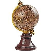 Casablanca Globus World schwarz//Silber D.20 cm Metall//Kunstst,m.Drehfunktion BxHxT 0 x 28 x 0