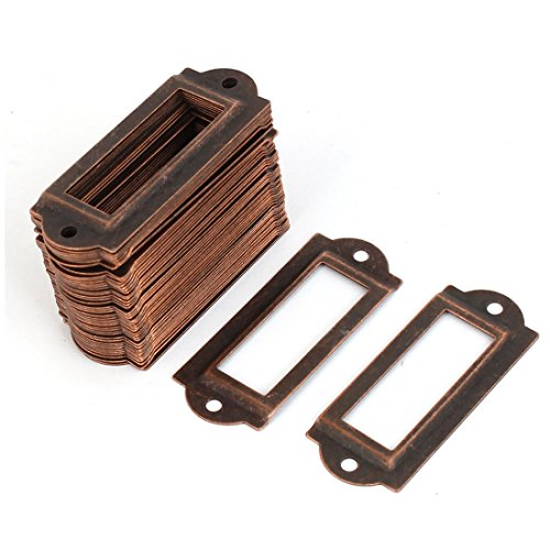 50-stuck-coppertone-metall-aktenschrank-etikettenrahmen-schrankrahmen-rahmen