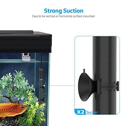 WOLFWILL Hochleistung Nato Aquarium Heizung, Heitzung für aquarien freundlich sicher splitterfrei Heizstab für Fische Schildkräte 300W - 3