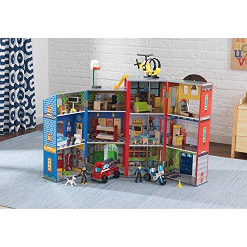 Puppenhaus für Jungen: KidKraft Helden des Alltags - 4