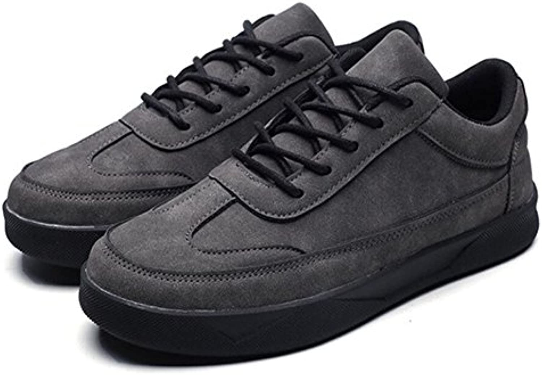 GAOLIXIA Zapatillas de Deporte de los Hombres Primavera Nuevas Zapatillas de Deporte de Moda Zapatos Retro Planas...