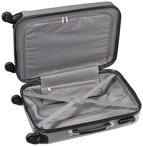 Packenger Boardcase Steel M (40L) in Silber - 5