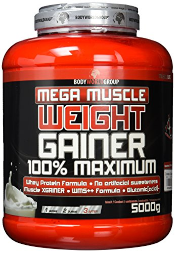 BWG Mega Muscle Weight Gainer 100% Maximum 5kg