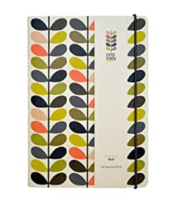 Orla Kiely A5 Exercise Book