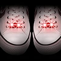 Red Shoe Laces Light