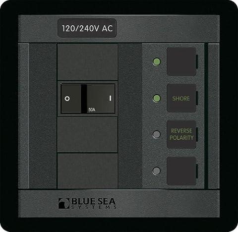Blue Sea Systems Blue Sea 1168 C-Series Triple-Pole Flat Rocker Circuit Breaker (Elektrische Breaker Ersatz)
