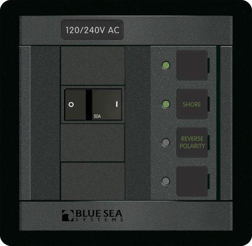 Blue Sea Systems Blue Sea 1168 C-Series Triple-Pole Flat Rocker Circuit Breaker Serie Flat Panel