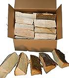 Landree 15 kg Smoker Holz Kastanie Smoker Wood Chestnut Buckeye Räucherholz Brennholz (Kastanie)