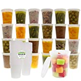 Best Freshware Meals - Freshware 24-Pack 32 oz Plastic Food Storage Containers Review