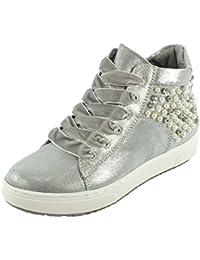 Sneaker silver Gr. 38 Marco Tozzi YLPy5yHX6