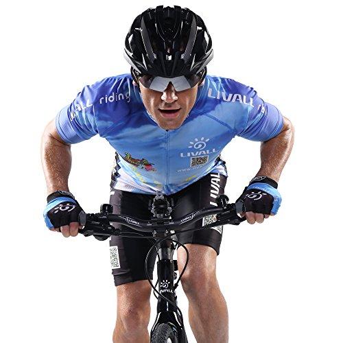 Livall Fahrradhelm MT1 mit Rücklicht, Blinker und SOS-System (schwarz/anthrazit) - 13
