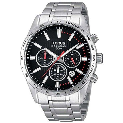 Lorus Mens Gents RT343DX9 Sports Chronograph Bracelet Wrist Watch