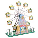 MagiDeal Bunten Modell Blechspielzeug Sammlerstück Wind-up Spielzeug - # 4, Ca. 23 * 21 * 8cm / 9.05 * 8.26 * 3.14inch