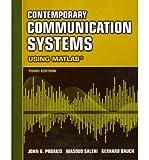 [(Contemporary Communication Systems Using MATLAB)] [Author: John G Proakis] published on (January, 2012)