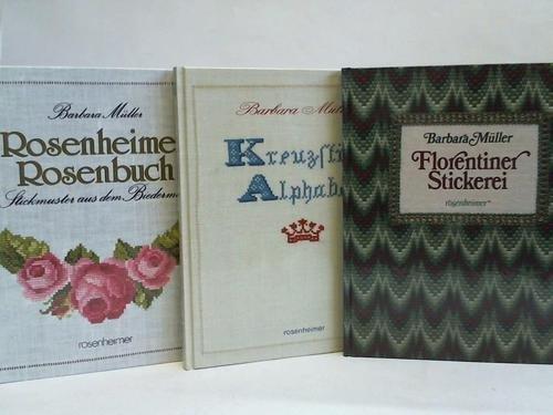 Kreuzstichalphabete / Florentiner Stickerei / Rosenheimer Rosenbuch. Stickmuster aus dem...