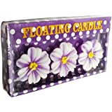 Neet's Creations Purple Fancy Floating Candle Pack Of 3 For Home Décor/Diwali