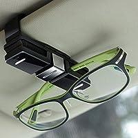 Soporte para gafas de sol de Fireangels, soporte para gafas de sol, pinza parasol de enganche para coches con terminaciones dobles, pinza para todo tipo de gafas