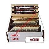 Pack 2000Nägel 3.1x 60, gewellt, Stahl, für Paslode IM90i/IM90Ci, 2000Stück