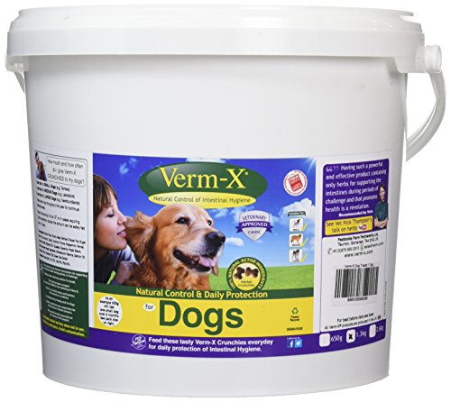 Verm-X  Dog Crunchies, 325 g Test