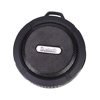 Dusche Lautsprecher wasserdichte Bluetooth tragbare Lautsprecher mit Mikrofon Saugnapf für Indoor Outdoor
