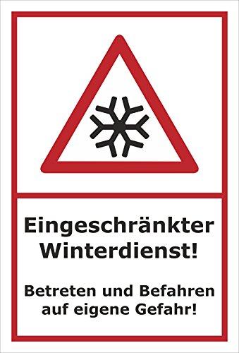 Schild Gefahr 25