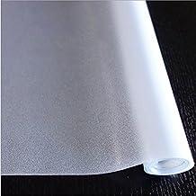 HXSS Frosted Intimidad Estática Película de cristal para dormitorio, oficina, cocina 45cm x 2m